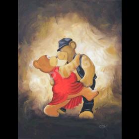 Bears tango